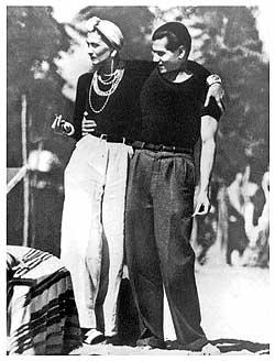 Chanel tengerésznadrágban a 20-as években